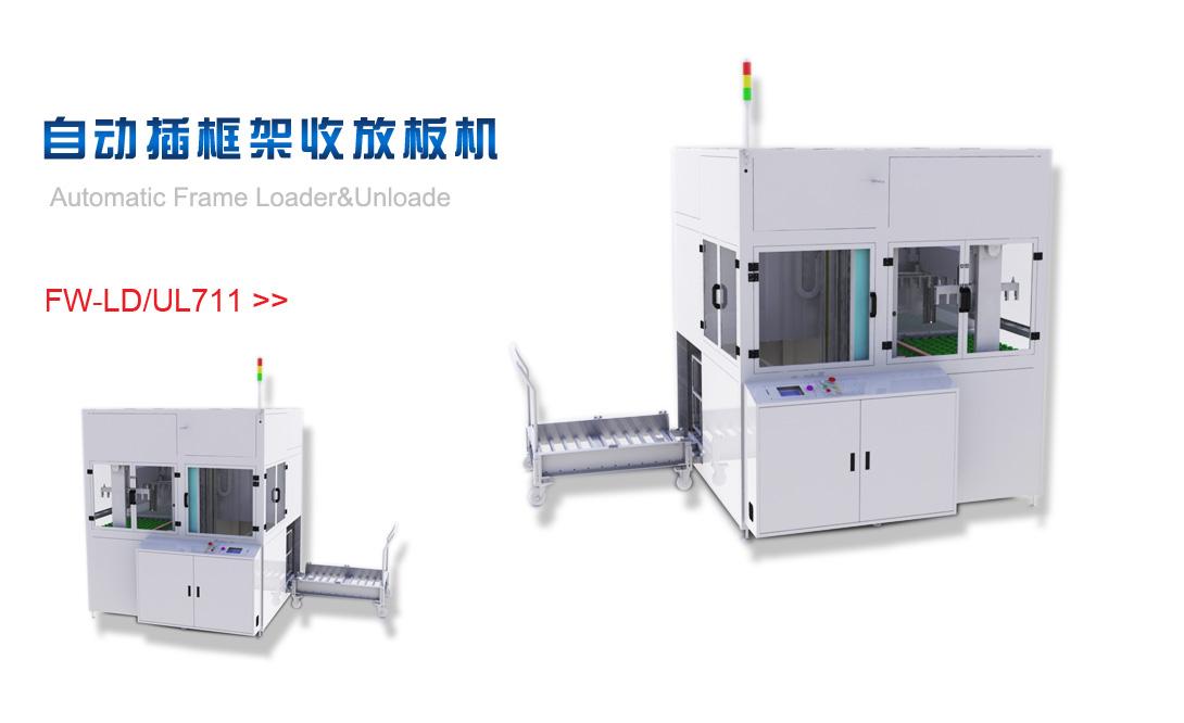 自动插框架收放板机FW-LD/UL711